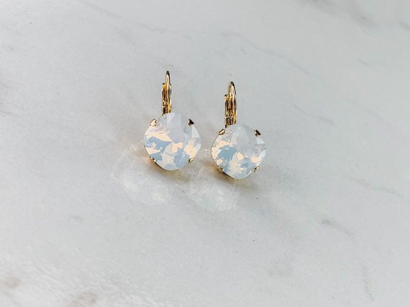 Victoria Lynn Stud Drop Earrings