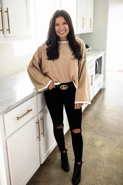 Lighting Candles Sweater