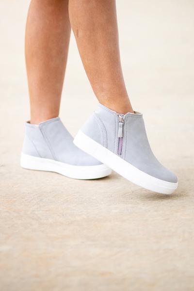 Cute Calling Sneaker - Grey