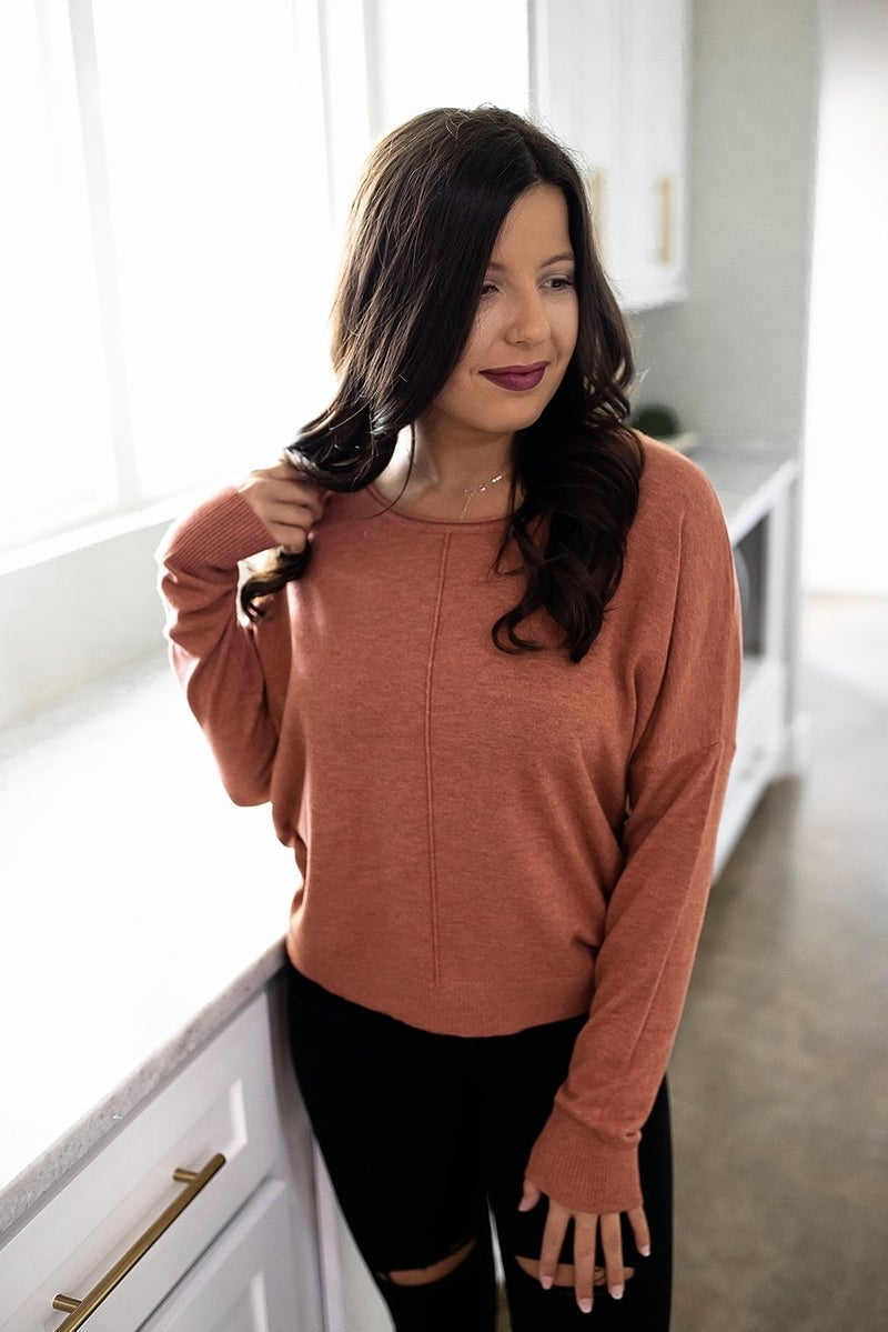 Apple Spice Delight Sweater