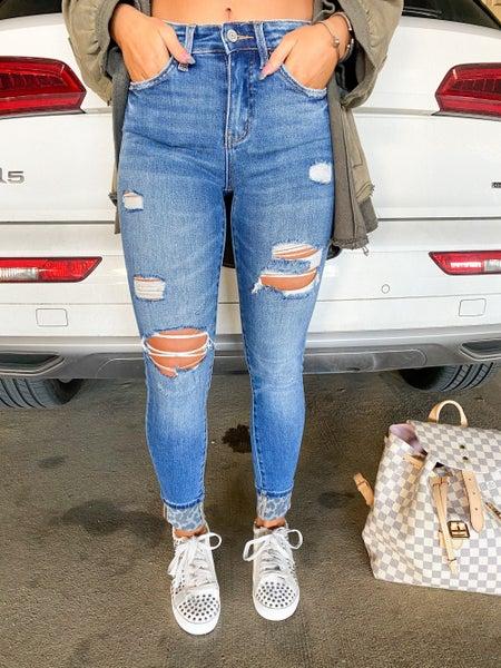 Cheetah Vibes Jeans