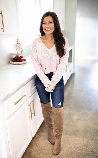 Sweet Frills Sweater