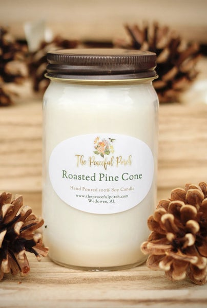 Peaceful Porch Jar Candle