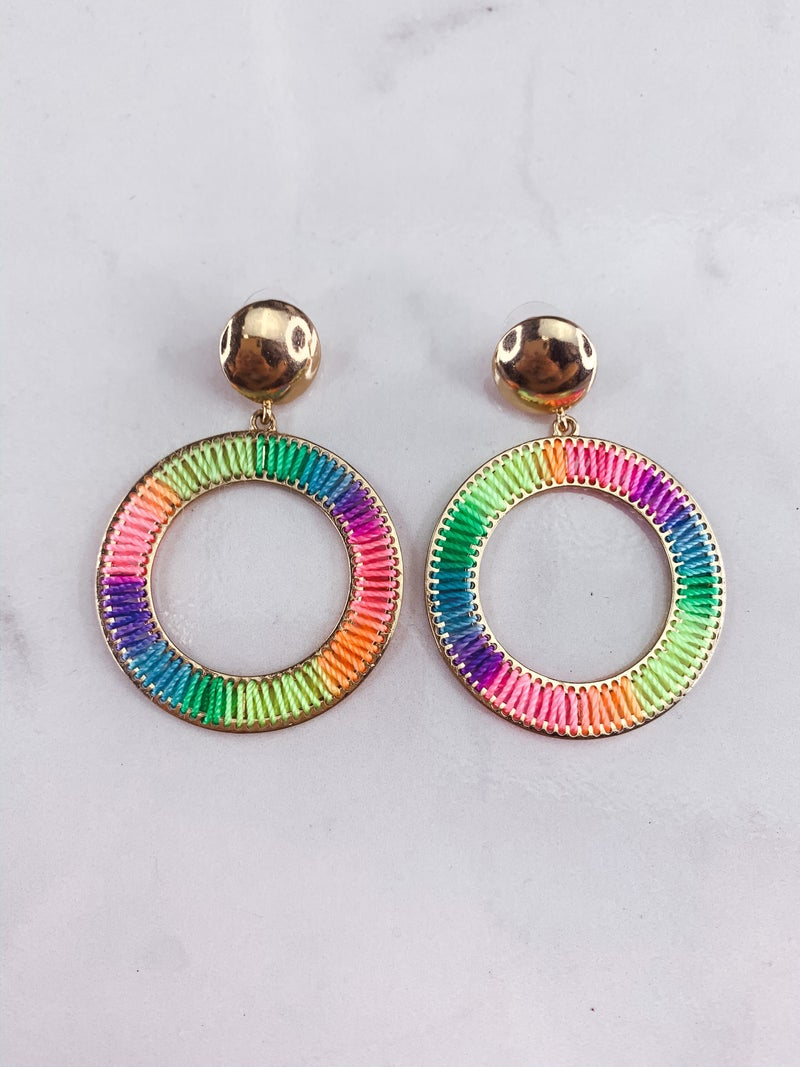Rainbow Fun Earrings