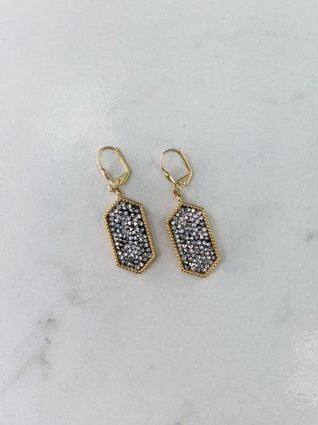 Victoria Lynn Druzy Earrings