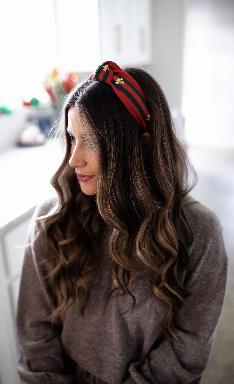 Designer Dupe Headband-Red