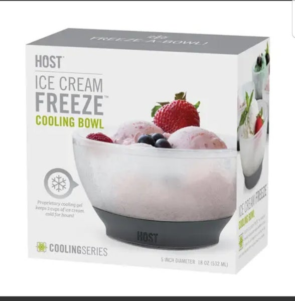 Freeze Ice Cream Bowl
