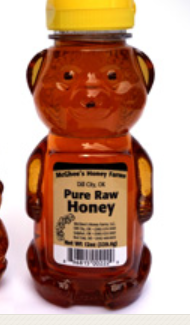McGhee's Pure Raw Honey