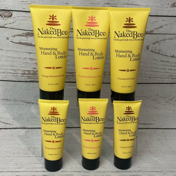 Naked Bee Hand And Body Lotion 2 sizes available