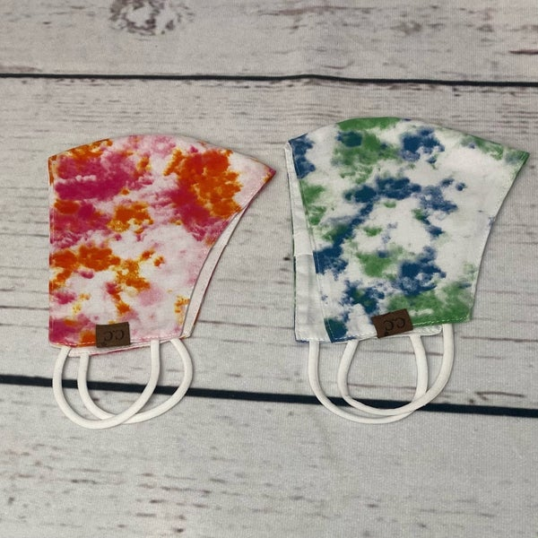 CC Tie Dye Face Covering