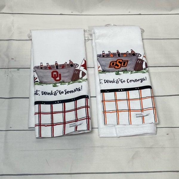 OU/OSU Hand Towels