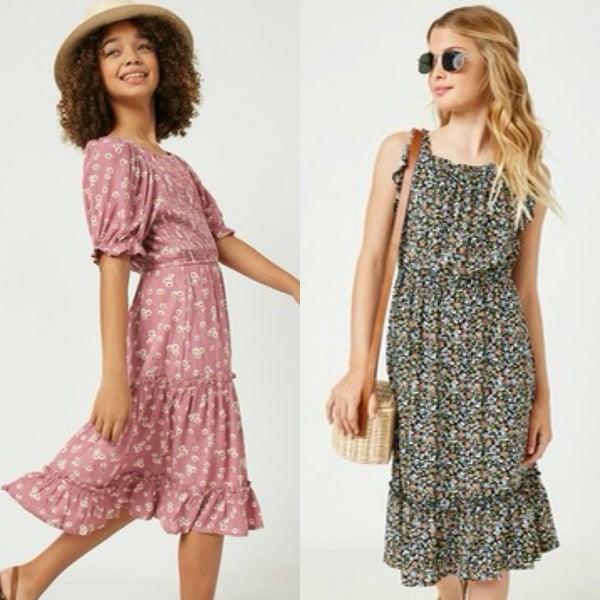 Kate & Paige Tween Floral Dress