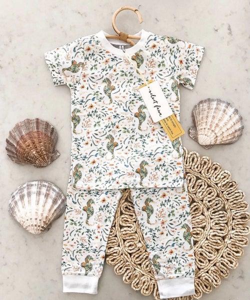 Into The Sea  2 Piece Pajamas