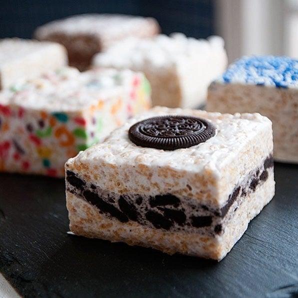 The Crispery Crispycakes Marshmallow Rice Treat