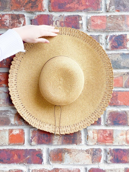 Take Me To The Beach (or pool) Hat