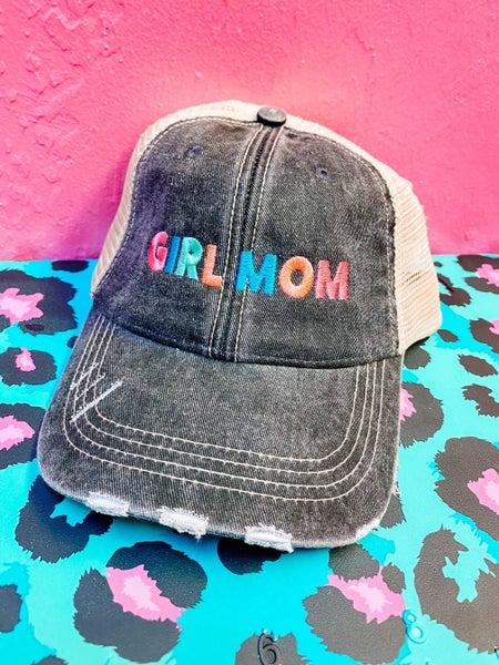 Boy Mom or Girl Mom Trucker Hats