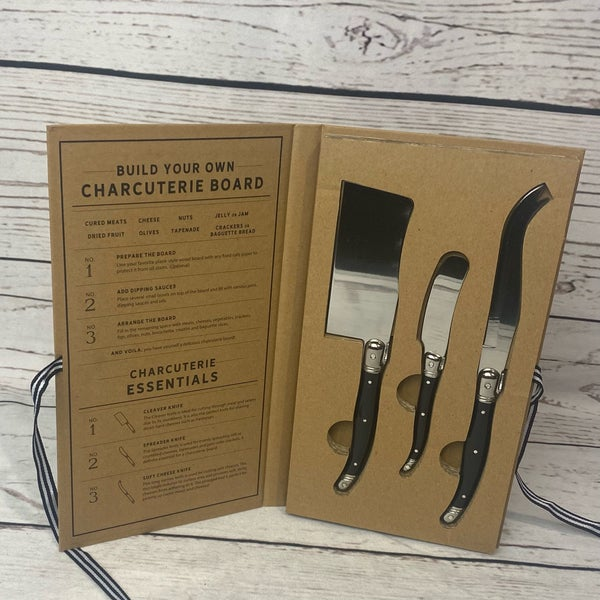 Charcuterie Essentials  Set of 3 Knives