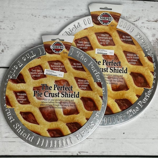 The Perfect Pie Crust Shield- 2 Sizes available