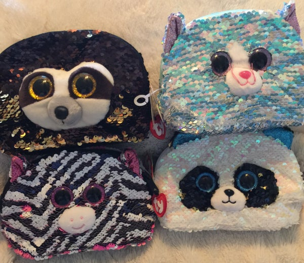 Ty Sequin Cosmetic bag