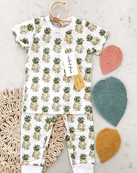 Tropical Dreams  2 Piece Pajamas