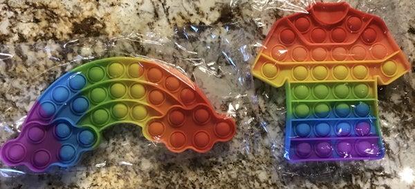 Rainbow Pop Fidgets