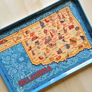 Oklahoma Melamine Rectangle Tray 9x13