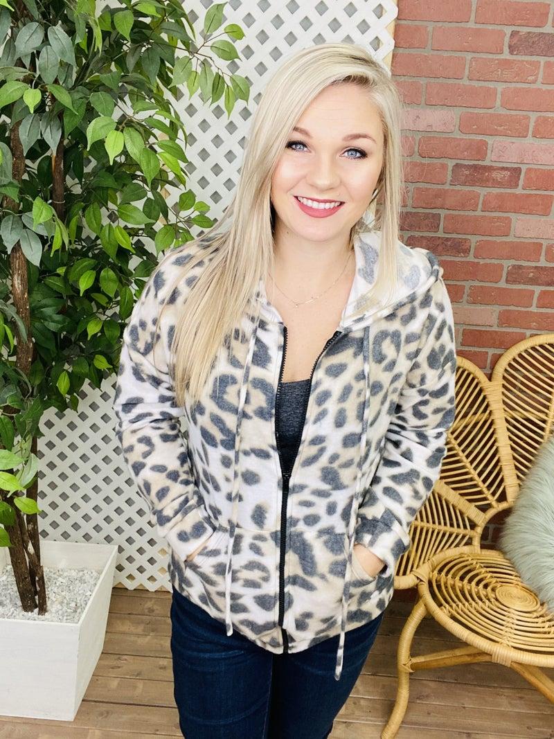 Survive The Wild Leopard Jacket