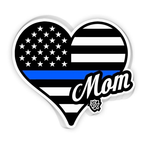 Back The Blue Parent Decal