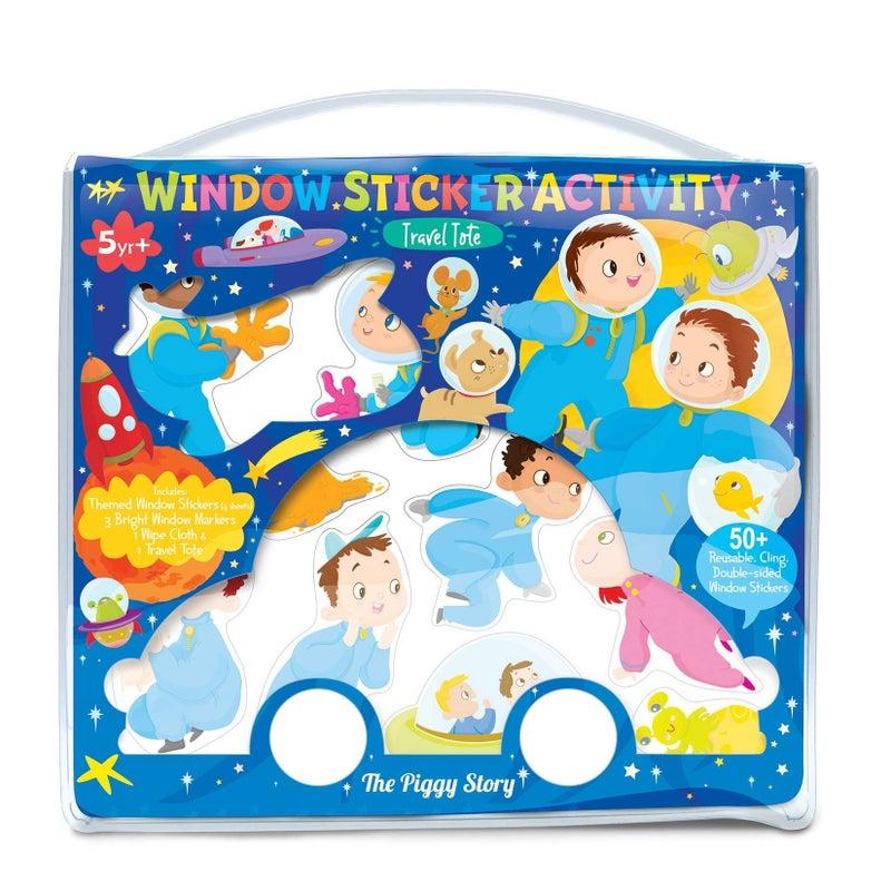 Kids Window Sticker Activity Book