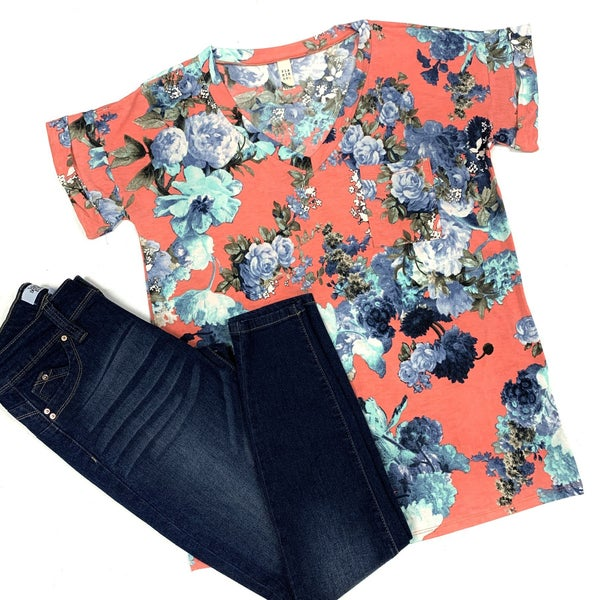 Make It Last Floral Top