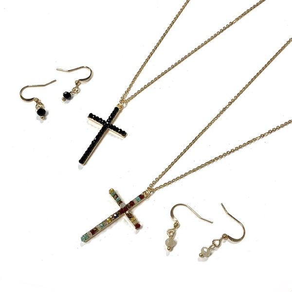 My All In All Cross Necklace