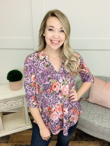 All My Love Floral Top