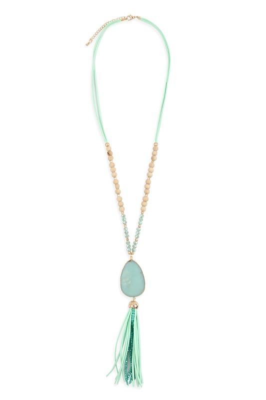 Tassel Pendant Necklace