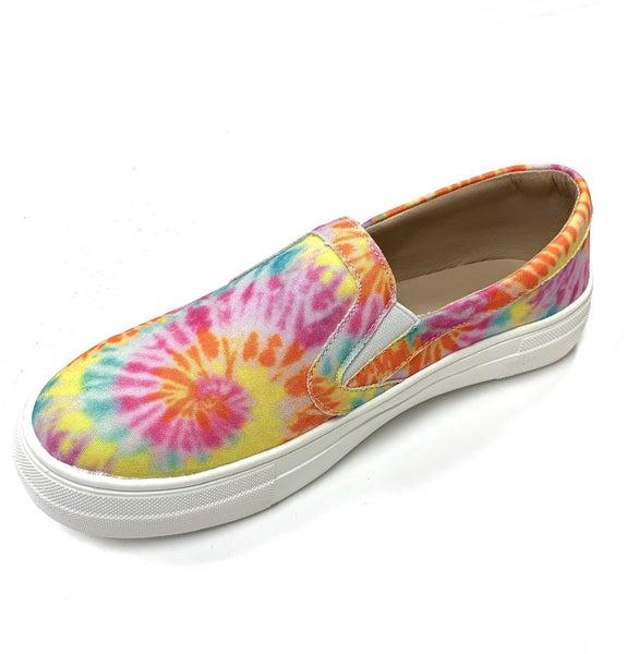 Vibrant TieDye Sneakers