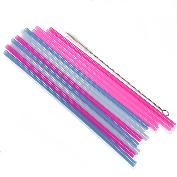 Unicorn Themed Reusable Color Changing Straws