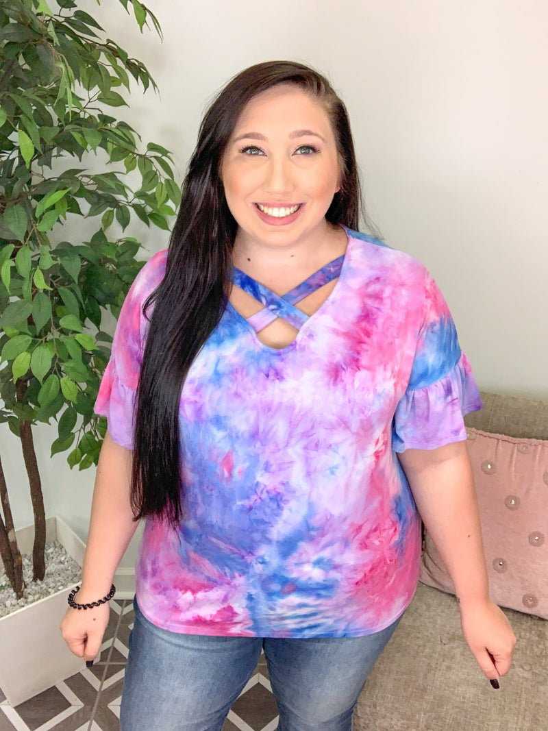 If I Were Yours TieDye Top