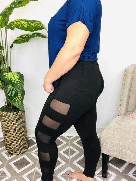 Rae Mode Mesh Side Leggings