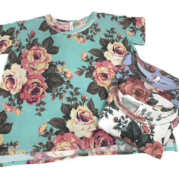 Let's Begin Anew Floral Top