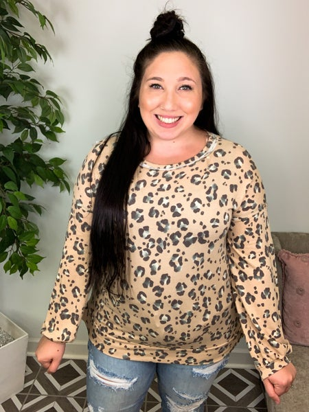 Chase You Anywhere Leopard Top