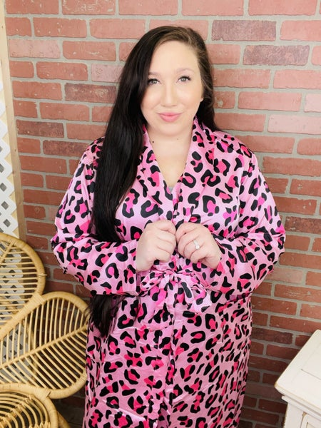 Vibe All Day Leopard Robe