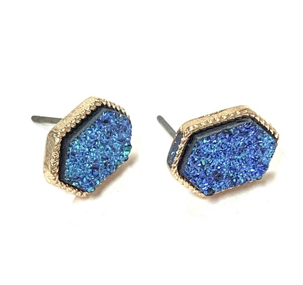 Ocean Dreams Druzy Earrings