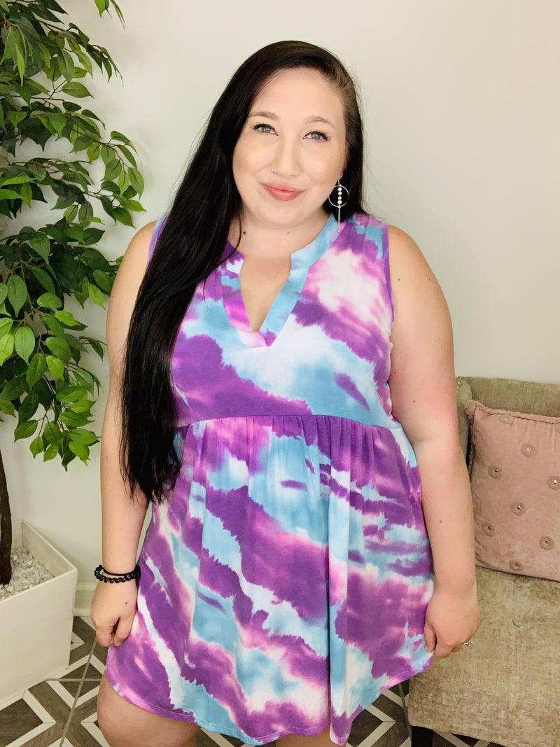 A Scenic Treasure TieDye Dress