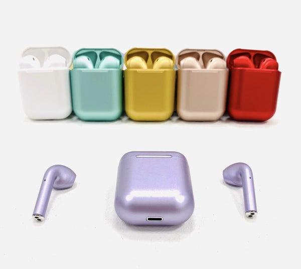 Metallic Wireless Ear Pods