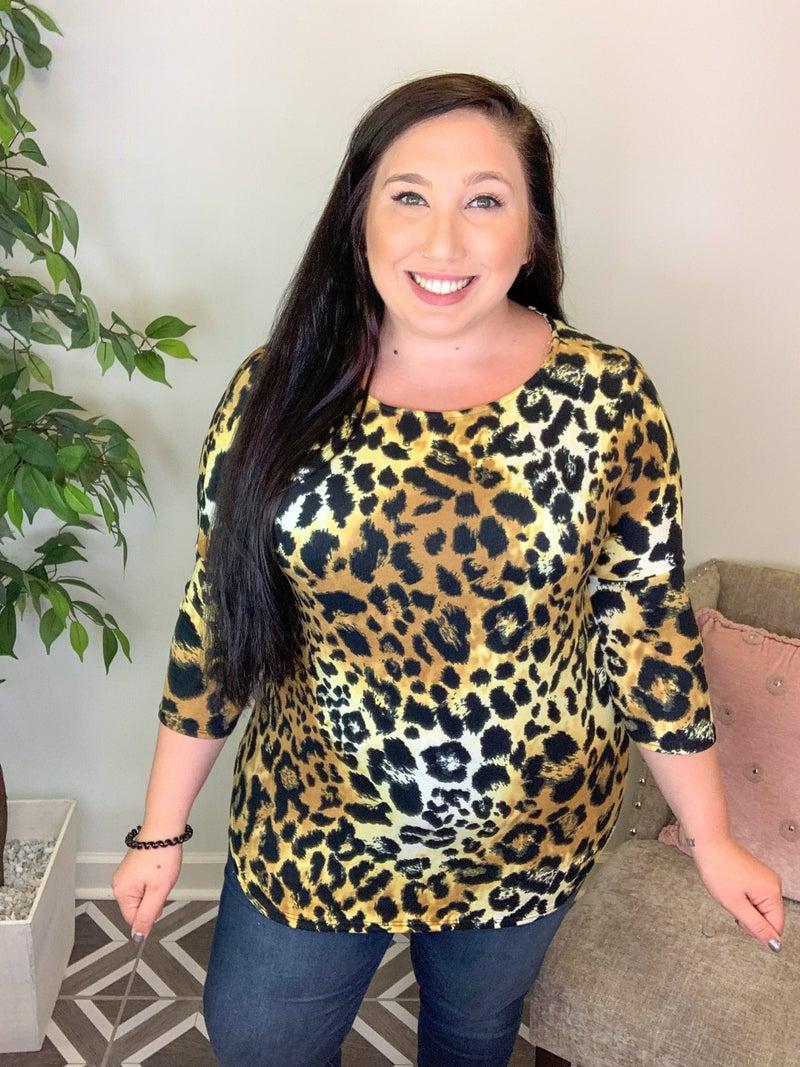 Ferociously Untamed Leopard Top