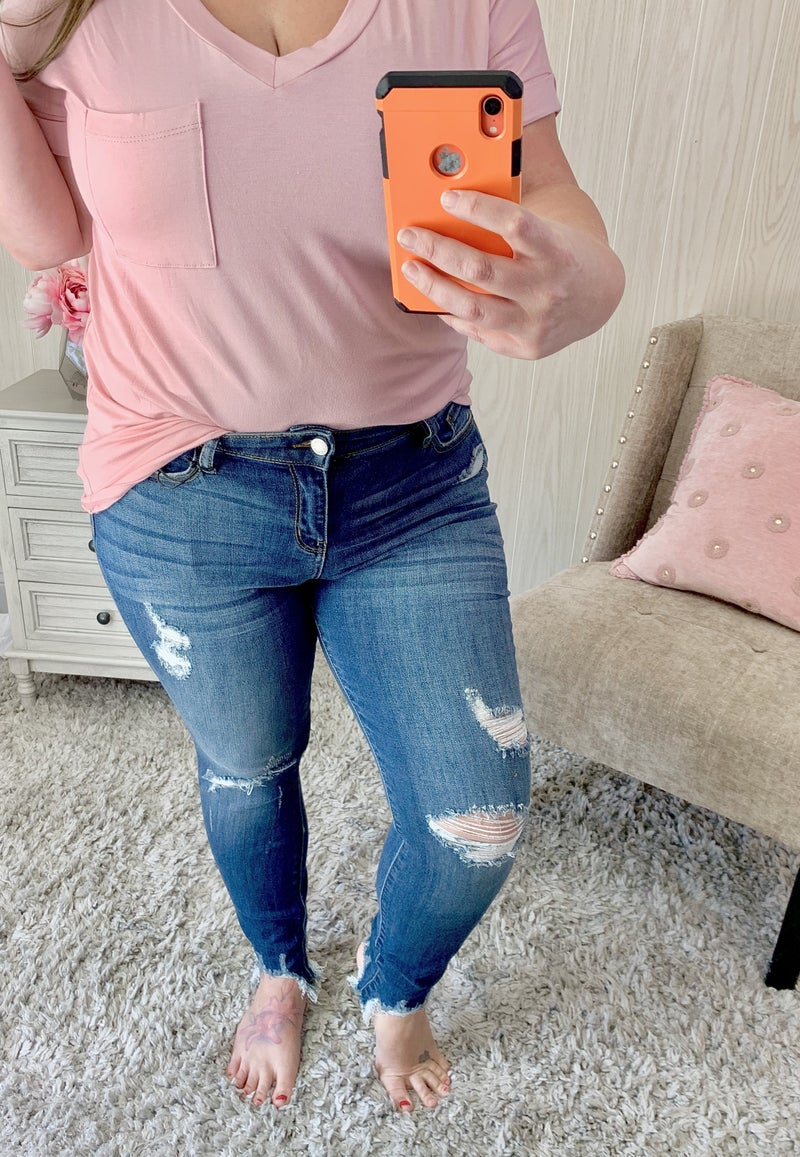 Judy Blue Made Ya Look Jeans