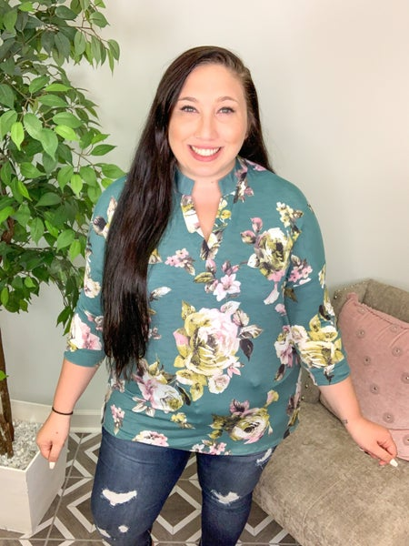Cherished Charm Floral Top