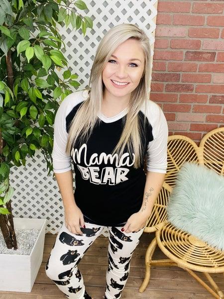 Mama Bear PJ Set