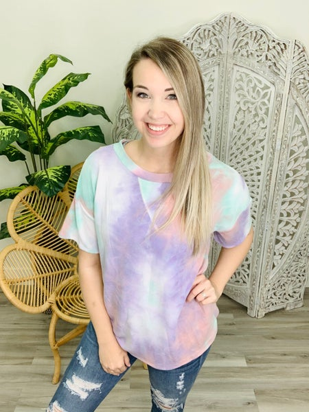 Sweet Like Sherbet TieDye Top