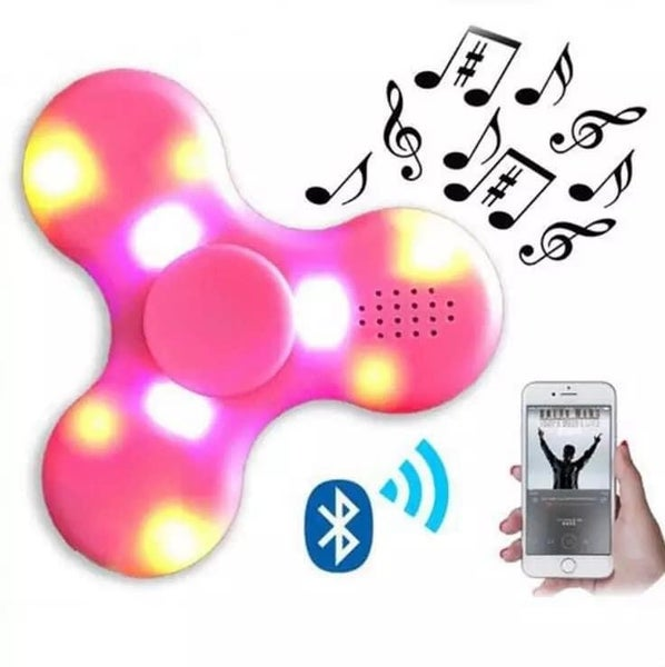Bluetooth LED Fidget Spinner