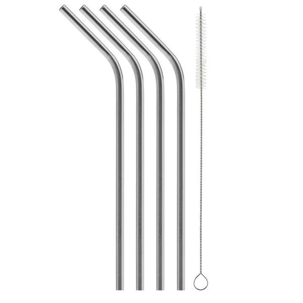 SIC Bent Stainless Steel Straw